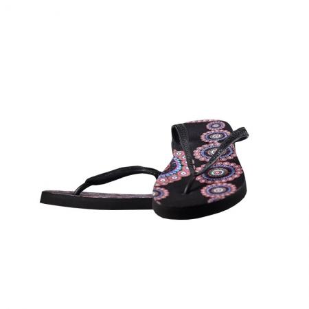 LINA flip-flopy čierne